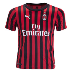 AC Milan 19/20 Home Youth Kit Youth Kit TNT Soccer Shop