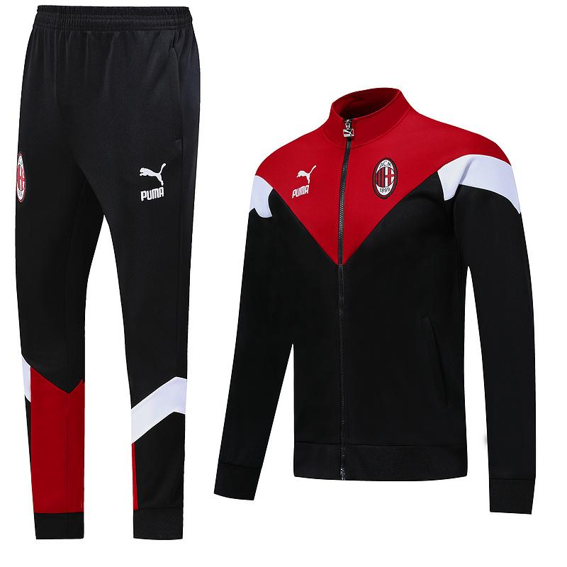 AC Milan 19/20 Black Iconic MCS Track Jacket Jacket TNT Soccer Shop S with Training Pants