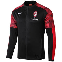 AC Milan 19/20 Black Stadium Jacket Jacket TNT Soccer Shop S No