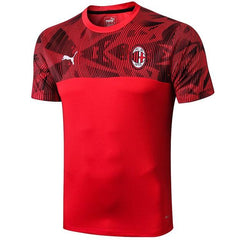 AC Milan 19/20 Red Pre-Match Training Jersey Training Jerseys TNT Soccer Shop