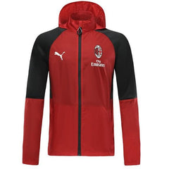 AC Milan 19/20 Red Winter Bench Jacket Jacket TNT Soccer Shop