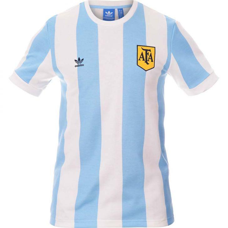 7a92389e2 1978 Argentina Retro Home Soccer Jersey - IN STOCK NOW - TNT Soccer Shop