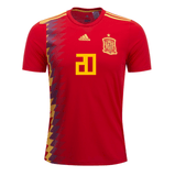 Spain 2018 Home Jersey Marco Asensio #20 Jersey TNT Soccer Shop