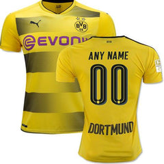Borussia Dortmund 17/18 Home Jersey Personalized - IN STOCK NOW - TNT Soccer Shop
