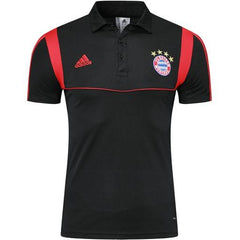 Bayern Munich 19/20 Black Presentation Polo - IN STOCK NOW - TNT Soccer Shop