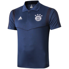 Bayern Munich 19/20 Blue Presentation Polo - IN STOCK NOW - TNT Soccer Shop
