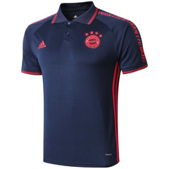 Bayern Munich 19/20 Navy Blue Presentation Polo - IN STOCK NOW - TNT Soccer Shop