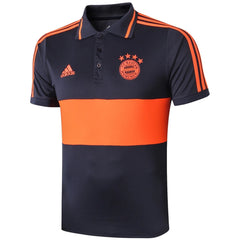 Bayern Munich 19/20 Night Gray Training Polo - IN STOCK NOW - TNT Soccer Shop