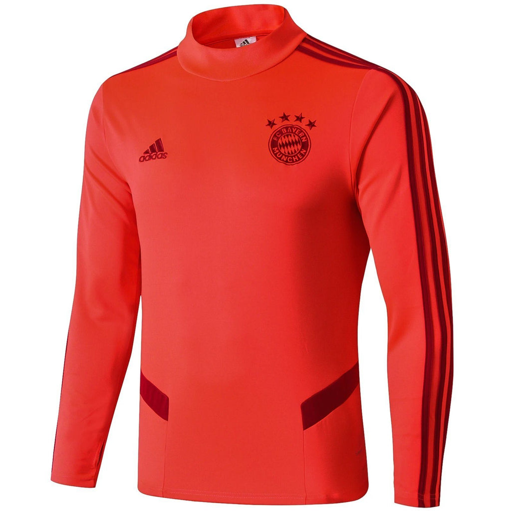 Bayern Munich 19/20 Red Technical Training Top Tracksuit TNT Soccer Shop S No