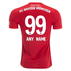 Bayern Munich 19/20 Home Jersey Personalized Jersey TNT Soccer Shop