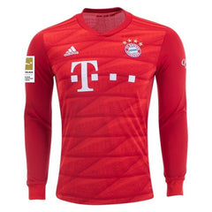 Bayern Munich 19/20 Home LS Jersey Personalized Long Sleeve Jersey TNT Soccer Shop S Bundesliga No