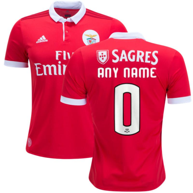 100% authentic 5f1d4 b1094 Benfica 17/18 Home Jersey Personalized