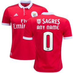 Benfica 17/18 Home Jersey Personalized - IN STOCK NOW - TNT Soccer Shop