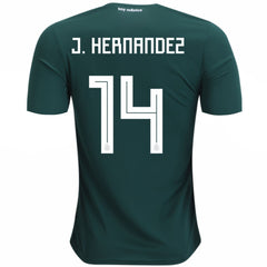 "Mexico 2018 Home Jersey Javier ""Chicharito"" Hernandez #14 Jersey TNT Soccer Shop"