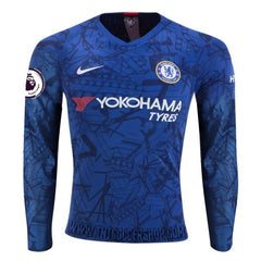 Chelsea 19/20 Home LS Jersey Personalized - IN STOCK NOW - TNT Soccer Shop