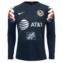Club América 19/20 Away LS Jersey Personalized Long Sleeve Jersey TNT Soccer Shop
