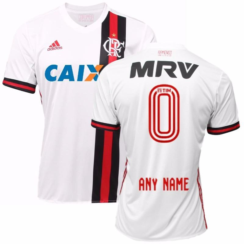 Flamengo 17 18 Away Jersey Personalized - IN STOCK NOW - TNT Soccer Shop 78ebd7328