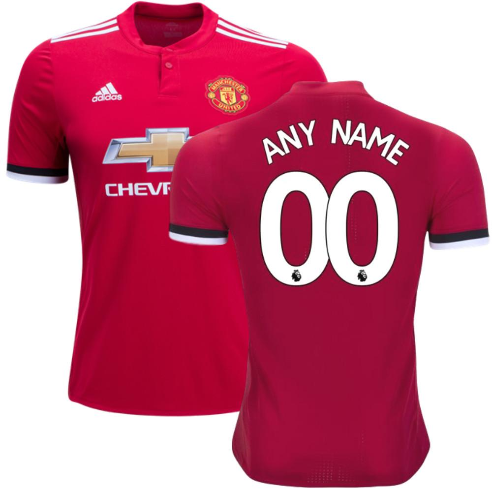 low priced d2ea5 bcd33 Man. United 17/18 Home Jersey Personalized