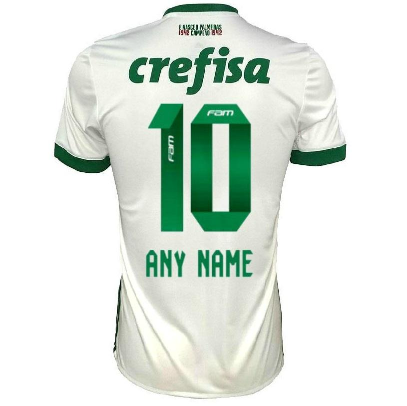 Palmeiras 17/18 Away Jersey Personalized Jersey TNT Soccer Shop
