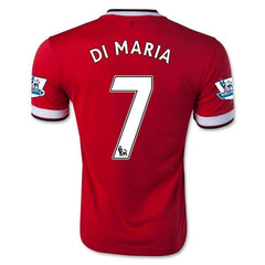 Red Devils 14-15 Home Jersey Di Maria #7 Ready to ship! Jersey TNT Soccer Shop
