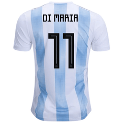 Argentina 2018 Home Jersey Angel Di Maria #11