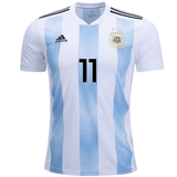 Argentina 2018 Home Jersey Angel Di Maria #11 Jersey TNT Soccer Shop