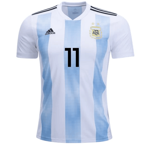 85c35e46f Argentina 2018 Home Jersey Angel Di Maria  11 - IN STOCK NOW - TNT Soccer