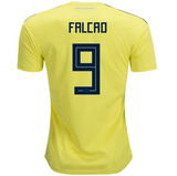 Colombia 2018 Home Jersey Radamel Falcao #9 Jersey TNT Soccer Shop