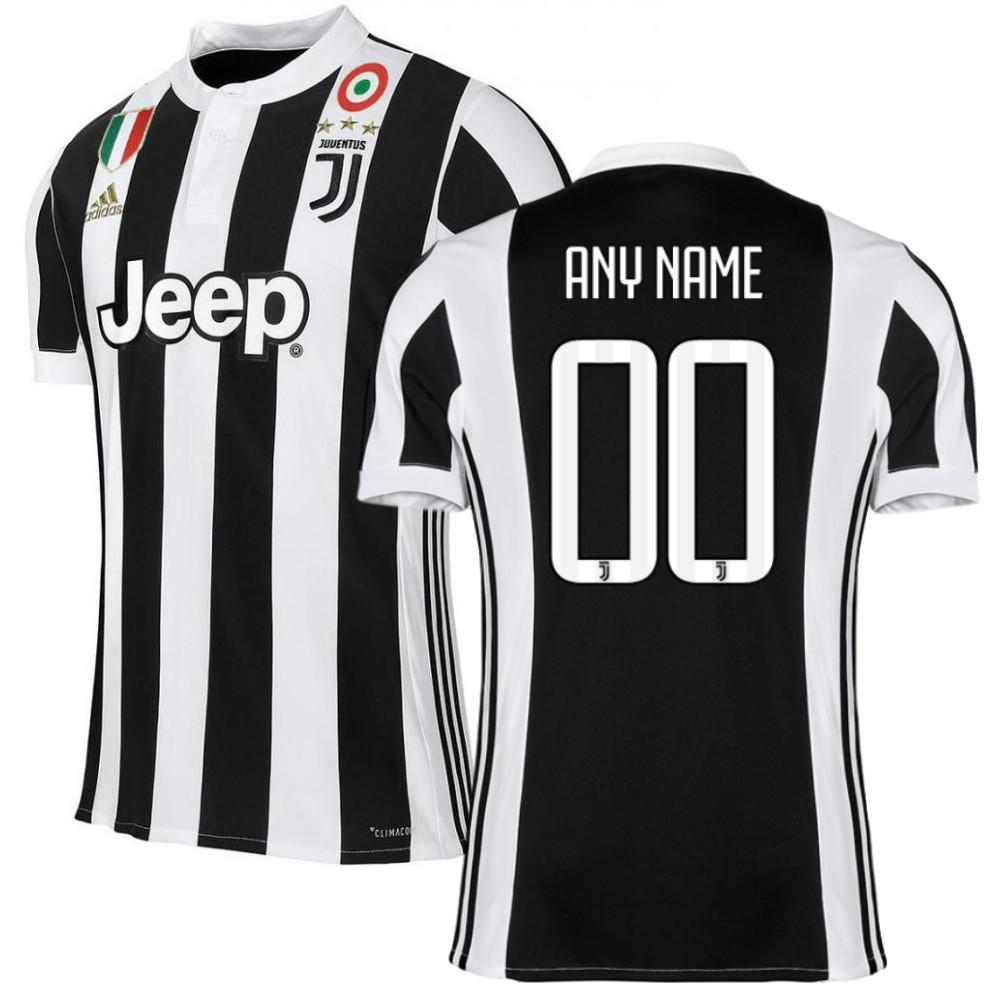 separation shoes 40ee9 d5983 Juventus 17/18 Home Jersey Personalized