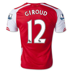 Arsenal 14-15 Home Jersey Giroud #12 Ready to Ship! Jersey TNT Soccer Shop