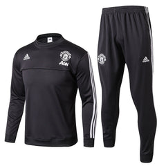 Man. United 17/18 Black Pre-Match Tracksuit - IN STOCK NOW - TNT Soccer Shop