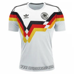 Germany 1988-1990 Retro Home Jersey Jersey TNT Soccer Shop