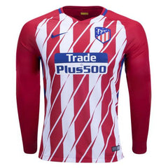 Atletico Madrid 17/18 Home LS Jersey - IN STOCK NOW - TNT Soccer Shop