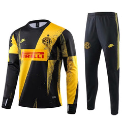 Inter Milan 19/20 Yellow Strike Drill Tracksuit Tracksuit TNT Soccer Shop