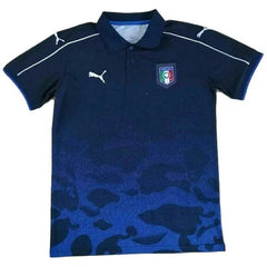 Italy 2017 Blue Camouflage Polo - IN STOCK NOW - TNT Soccer Shop