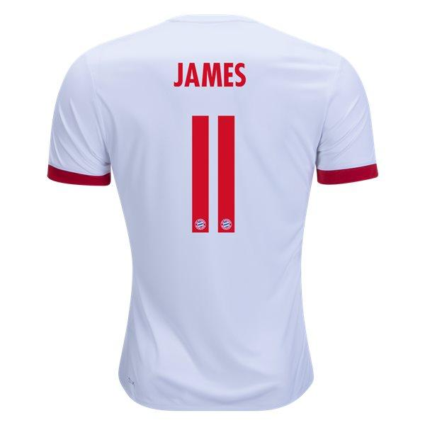 Bayern Munich 17/18 Third Jersey James #11 Jersey TNT Soccer Shop