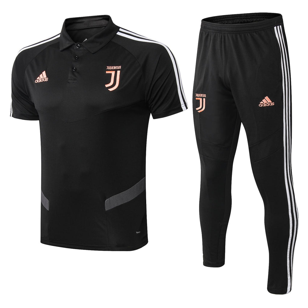 Juventus 19/20 Black Training Polo Polo TNT Soccer Shop S with Training Pants