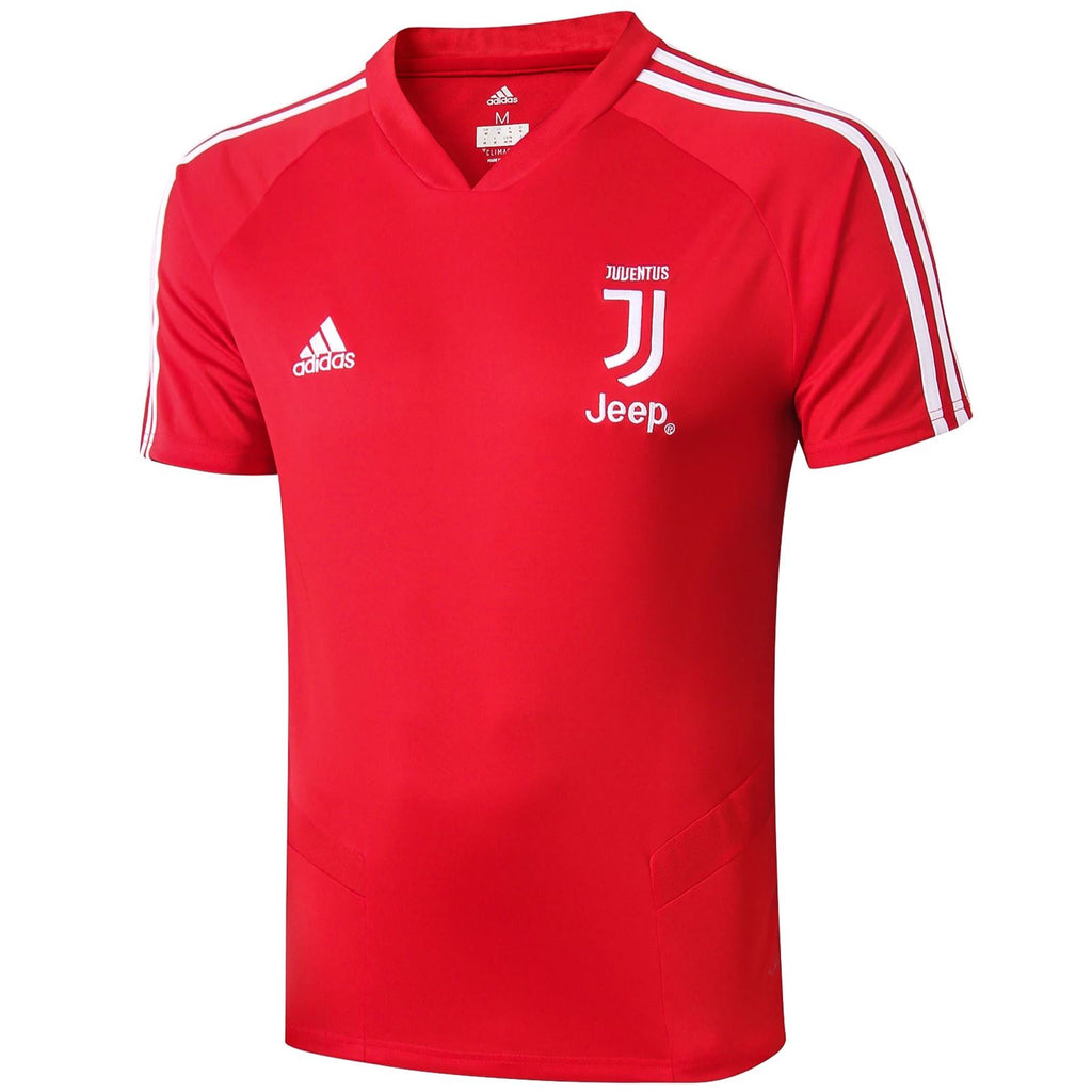 Juventus 19/20 Red Pre-Match Training Jersey Training Jerseys TNT Soccer Shop S No No