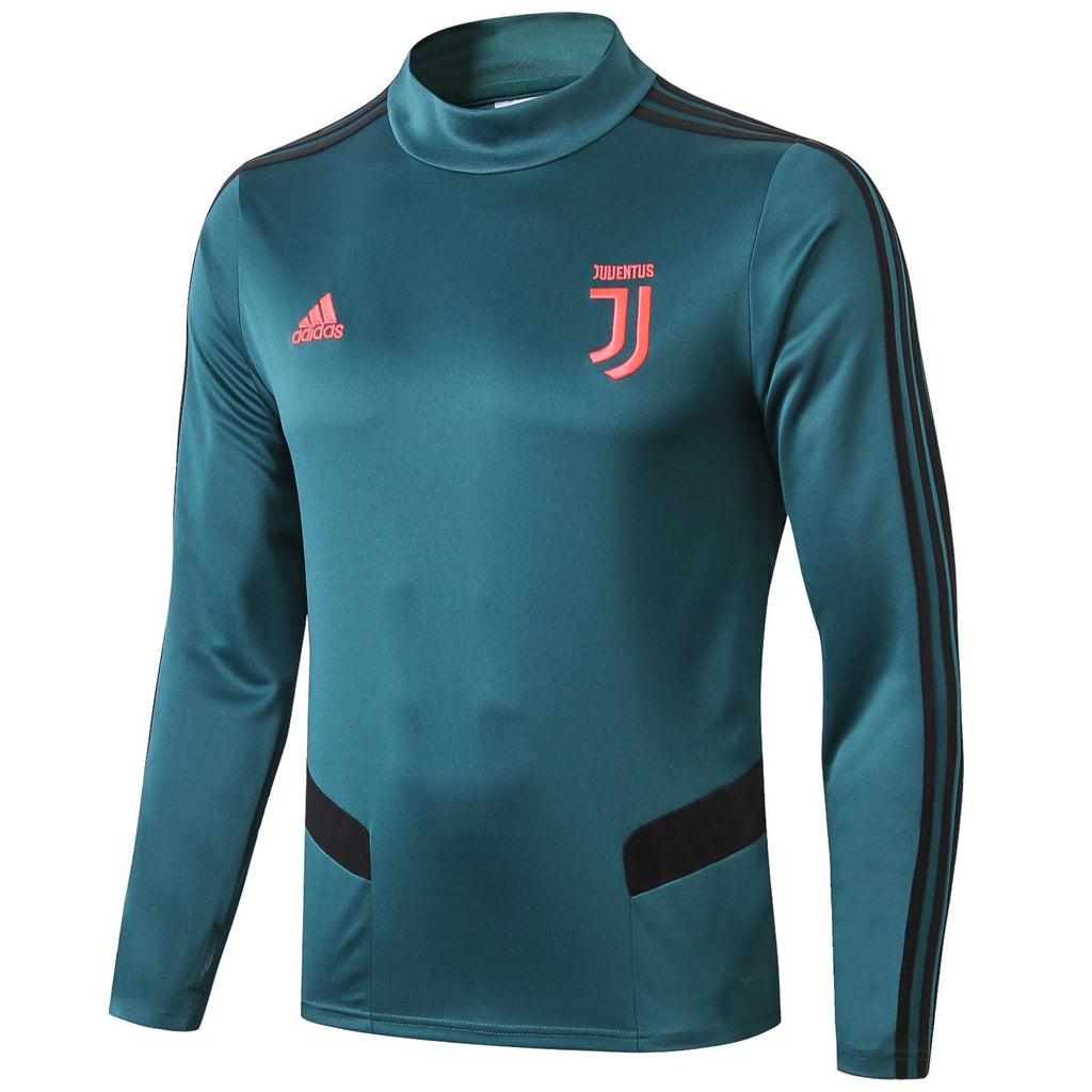Juventus 19/20 Green Technical Training Top Tracksuit TNT Soccer Shop S No