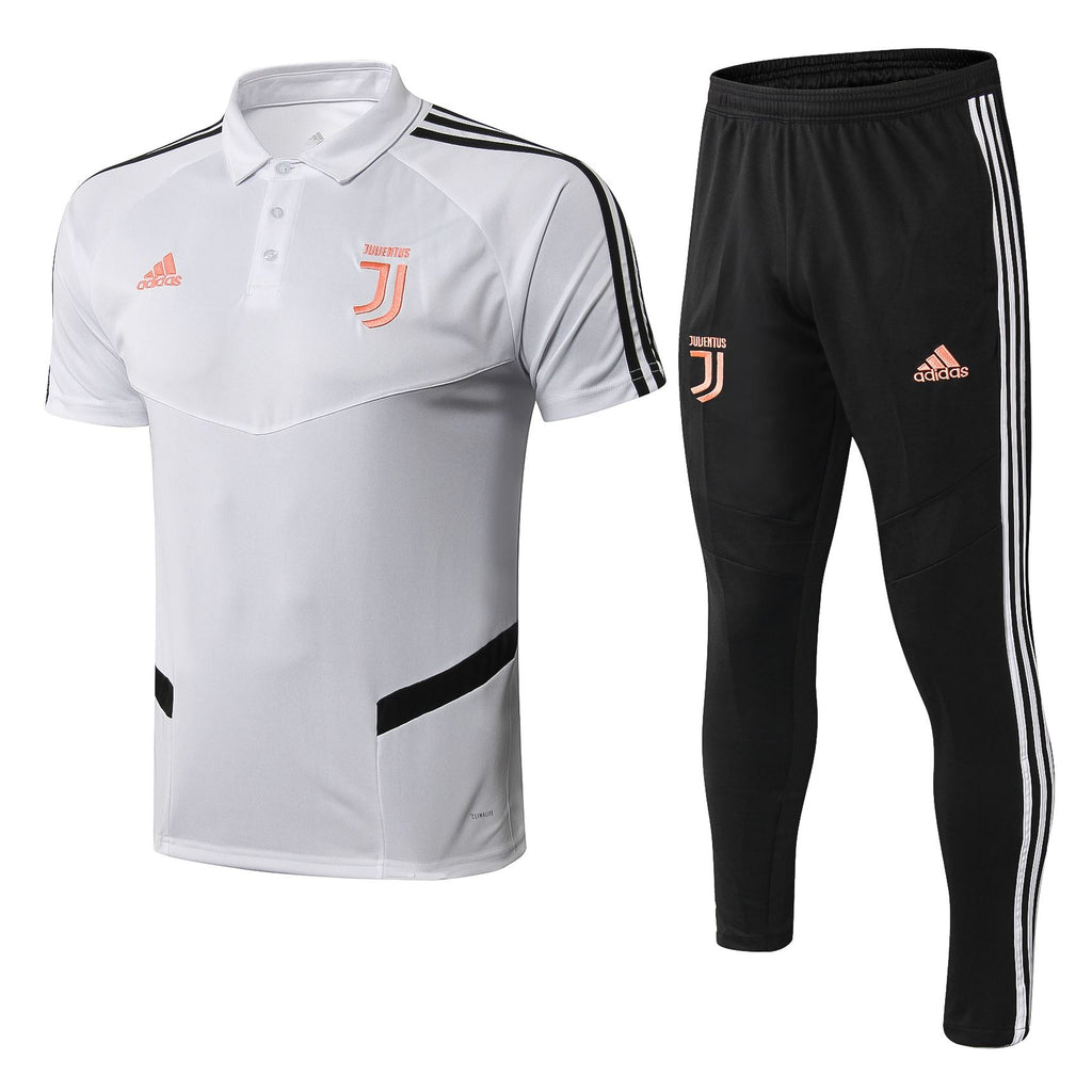 Juventus 19/20 White Training Polo Polo TNT Soccer Shop S with Training Pants