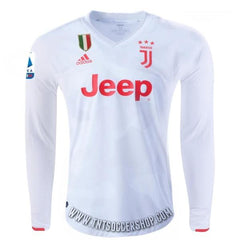 Juventus 19/20 Away LS Jersey Personalized - IN STOCK NOW - TNT Soccer Shop