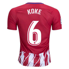 Atletico Madrid 17/18 Home Jersey Koke #6 - IN STOCK NOW - TNT Soccer Shop