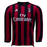 AC Milan 17/18 Home LS Jersey Personalized Long Sleeve Jersey TNT Soccer Shop