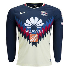 Club América 17/18 Home LS Jersey Personalized