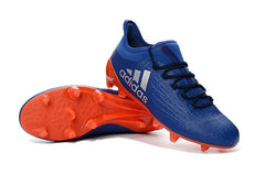 X 16.3+ FG - Purple Solar Orange Footwear TNT Soccer Shop