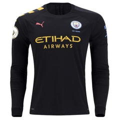 Manchester City 19/20 Away LS Jersey Personalized