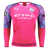 Manchester City 19/20 Goalkeeper Away LS Jersey Personalized Jersey TNT Soccer Shop S Champions League No