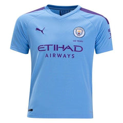 Manchester City 19/20 Home Youth Kit Youth Kit TNT Soccer Shop