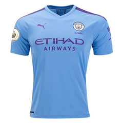 Manchester City 19/20 Home Jersey Jersey TNT Soccer Shop S Premier League No