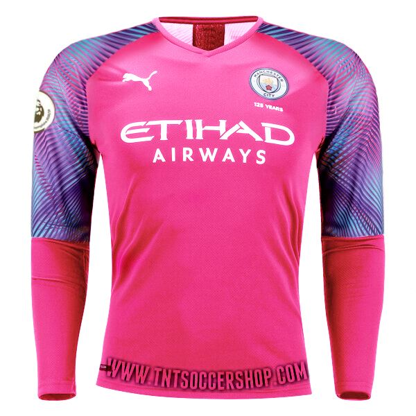 Manchester City 19/20 Goalkeeper Away LS Jersey Personalized Jersey TNT Soccer Shop S Premier League No